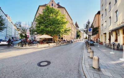 Ehrengutstraße im Dreimühlenviertel