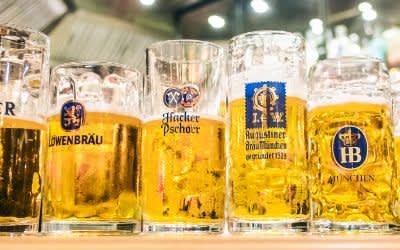 Die Biere der sechs Münchner Brauereien
