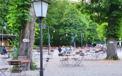 Hirschau-Biergarten
