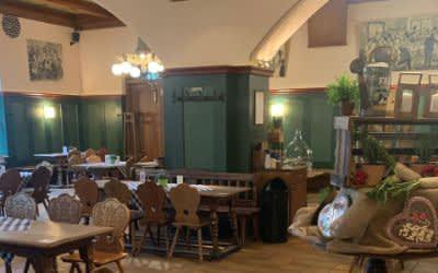 Innenbereich des Hofbräukellers