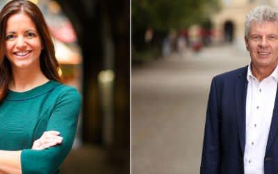 OB-Kandidaten in der Stichwahl: Kristina Frank (CSU) und Dieter Reiter (SPD)