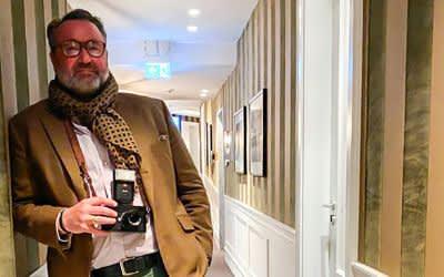 Der Weinzelt-Wirt als Fotograf: Stephan Kuffler stellt Bildband vor