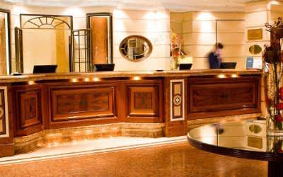 Empfang des Hotels Bayerischer Hof
