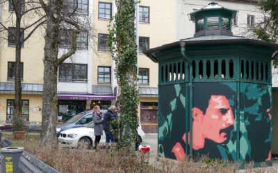 "Kunstprojekt ""The Pissior"" am Holzplatz"
