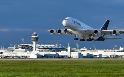 Flughafen München Passagierrekord
