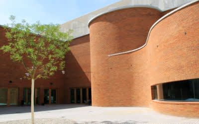 Der Neubau des Volkstheaters an der Tumblingerstraße
