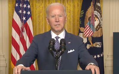 Joe Biden spricht bei der MSC Special Edition
