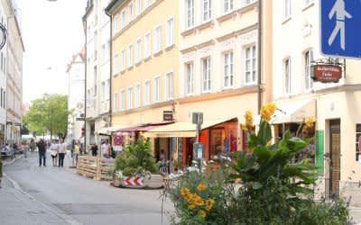 Die Westenriederstraße ist auch 2021 eine der Münchner Sommerstraßen.