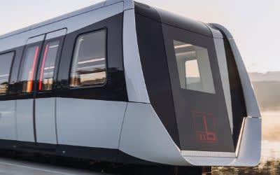 Die Magnetschwebebahn Transport System Bögl, kurz TSB