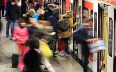 S-Bahn in München.