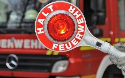 Einsatzkelle der Feuerwehr