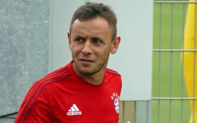 Rafinha im Training des FC Bayern München