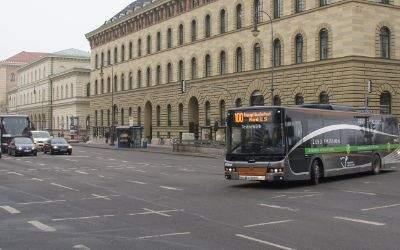 Neue Elektrobusse für München
