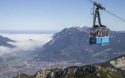Die Region Wettersteingebirge um Garmisch-Partenkirchen