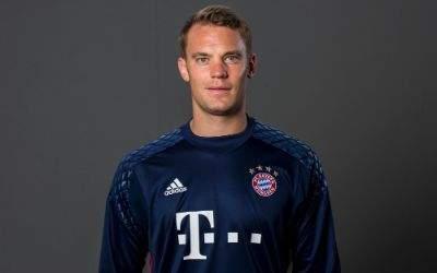 Manuel Neuer beim FC Bayern in der Saison 2016/17