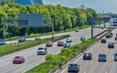 Autobahn München bei Fröttmaning