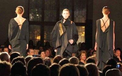 Große Modeschau bei der Verleihung des Münchner Modepreises 2016