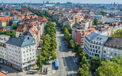 Panorama - Neuhausen Richtung Innenstadt