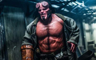"Szene aus dem Film ""Hellboy"""