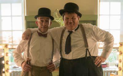 "Szene aus dem Film ""Stan & Ollie"""