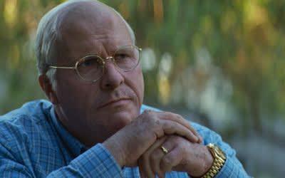 "Szene aus ""Vice"" mit Christian Bale"