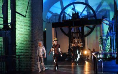 Tanzperformance im Deutschen Museum