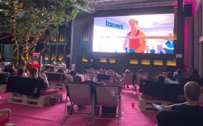 Open-Air-Kino im Innenhof der Hofstatt