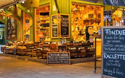 Käse (und Wein) vom Viktualienmarkt