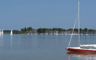 Segelboote auf dem Chiemsee