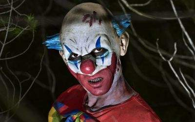 Gruseliger Clown