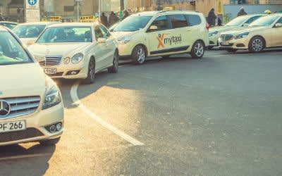 Taxis am Odeonsplatz