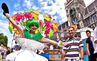 Impressionen vom Christopher-Street-Day in München