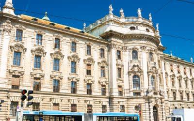 Der Justizpalast in München