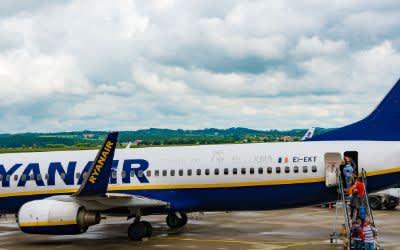 Ryanair am Flughafen München