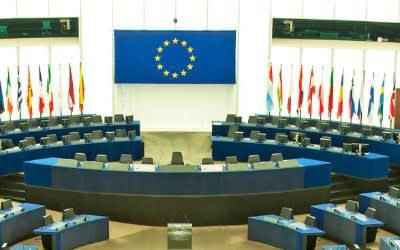 Europaparlament Straßburg Sitzungssaal