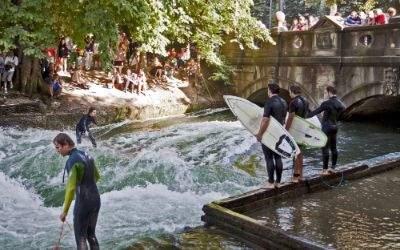 Eisbach Surfen München