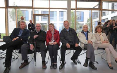 Die Teilnehmer der Ehrenbürgerfahrt 2016