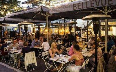 Das Café Bellevue