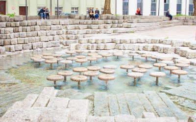 Brunnen an der Frauenkirche