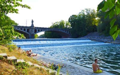 Sommer an den Isarauen