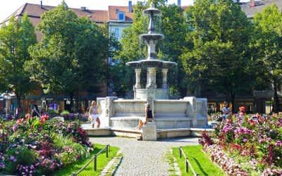 Sommer am Weißenburgerplatz
