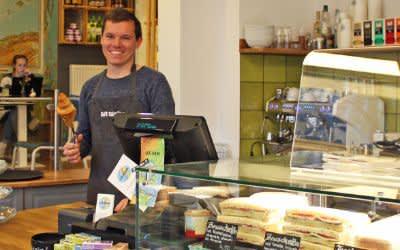 Café Colombo im Westend