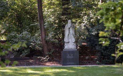 Der Dichtergarten in München