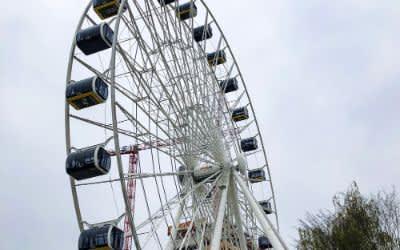 Hi-Sky-Riesenrad am Münchner Ostbahnhof