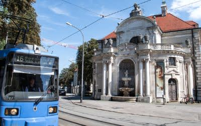 Tram 16: Bayerisches Nationalmuseum