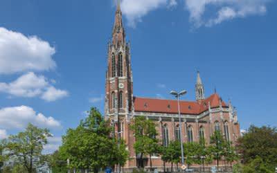Heilig-Kreuz-Kirche in Obergiesing