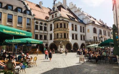 Das Platzl in München