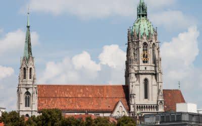 St. Pauls Kirche an der Theresienwiese
