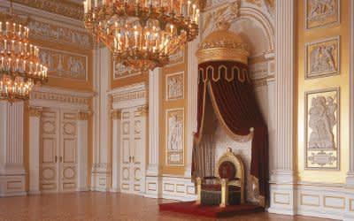 Residenz München, Königsbau, Thronsaal im Appartement des Königs