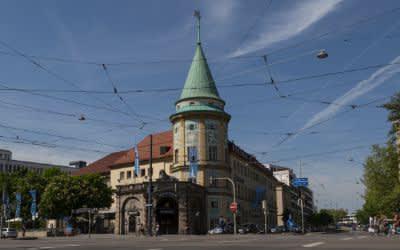 Stiglmaierplatz in der Maxvorstadt